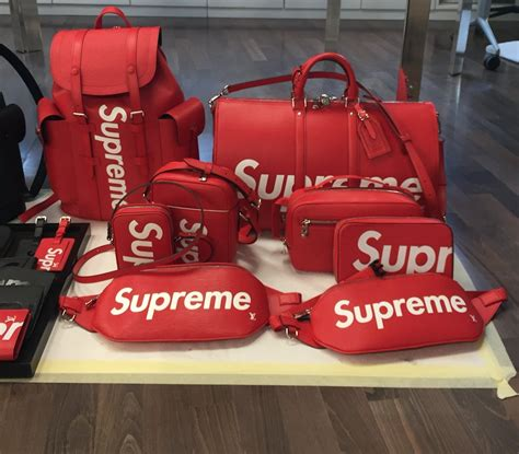 the supreme exclusive pieces from the supreme x louis vuitton