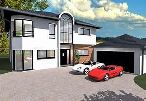 couleur de facade de maison moderne formidable couleur With entree exterieure maison contemporaine 11 couleur de facade moderne obasinc