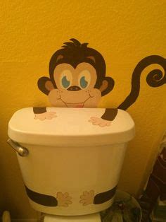 images   girls monkey bathroom  pinterest