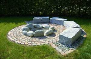 Feuerstelle Mit Sitzgelegenheit : carpe garden sitzplatz mit feuerstelle ~ Whattoseeinmadrid.com Haus und Dekorationen
