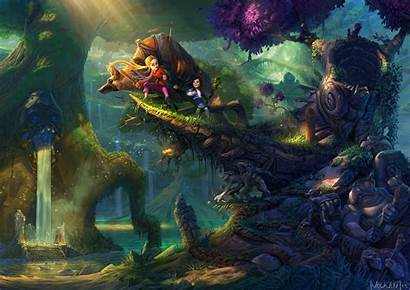 Forest Fantasy Goblin Fairytale Goblins Wallpapers Epic