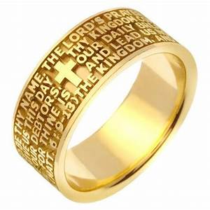 47822e lord39s prayer wedding band With prayer for wedding rings
