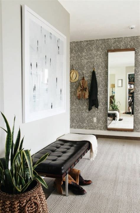 cuisine grise quelle couleur pour les murs papier peint pour couloir comment faire le bon choix