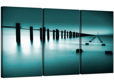 sea canvas prints uk set     bathroom