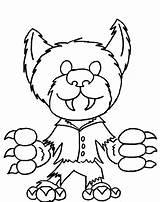 Coloring Pages Monster Halloween Werewolf Printable Monsters Scooby Doo Drawing Printables Mystery Machine Cartoon Getcolorings Getcoloringpages Getdrawings Clipartmag Popular Frankenstein sketch template
