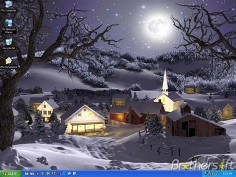 Free Winter Animated Wallpaper - free winter 3d animated wallpaper