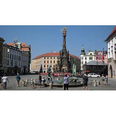 Holy Trinity Column - Statue in Olomouc Thousand Wonders