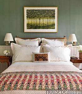 Green, Bedrooms