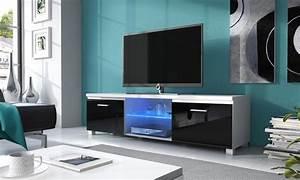 Tv Lowboard Led : tv lowboard mit led beleuchtung groupon goods ~ Indierocktalk.com Haus und Dekorationen