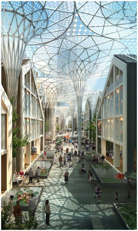 3D Architectural Visualization Future Architecture: http