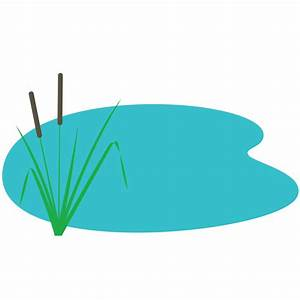 Pond clipart water pond - Pencil and in color pond clipart ...