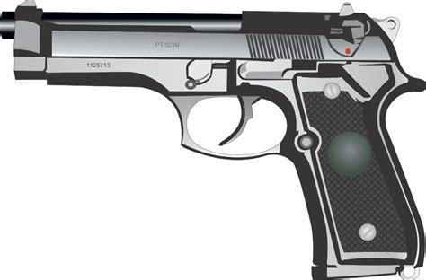 Pistol Clipart Gun Pistol Vector Clipart Clipart Suggest