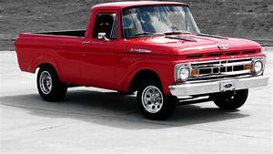 1961 Ford F100 Shortbox Unibody 351  350 Hp  Automatic