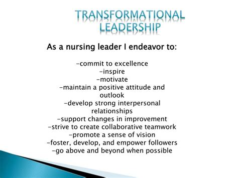 nursing leadership  quality safety powerpoint