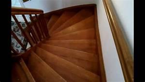 Treppe Renovieren Pvc : alte holztreppe sanieren renovieren hd video anleitung youtube ~ Markanthonyermac.com Haus und Dekorationen