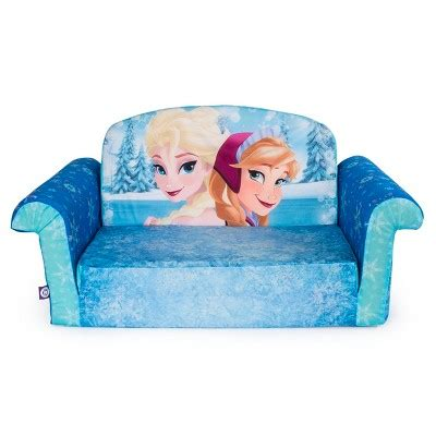 sofia flip open sofa marshmallow furniture flip open sofa disney frozen target