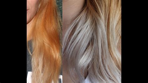 Toning Blonde Hair With Wella Color Charm