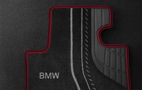 Bmw Genuine Tailored Rear Car Floor Textile Mats Sport F21