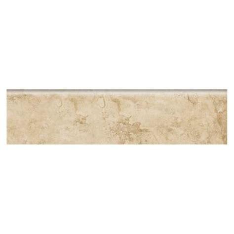 bullnose tile trim home depot daltile brancacci fresco caffe 3 in x 12 in beige