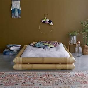 Tikamoon : Balyss Bamboo Futon Bed Frame for 90x190