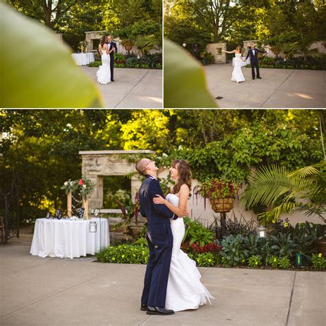 cleveland botanical gardens wedding and randy s