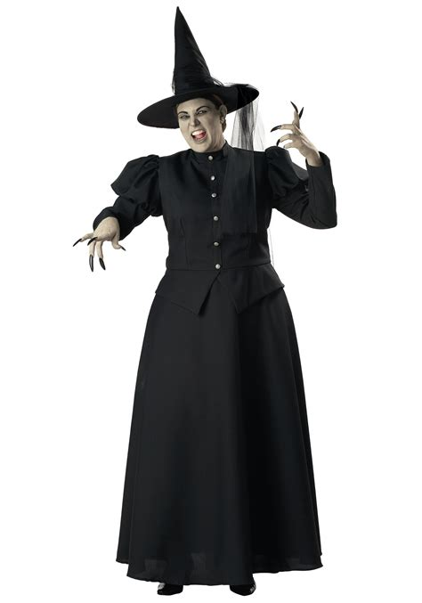 how to make a size witch for plus size black witch costume