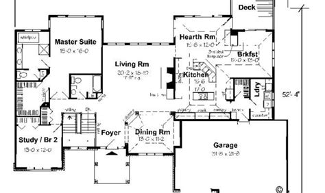 Luxury Ranch Style House Plans With Basement New Home