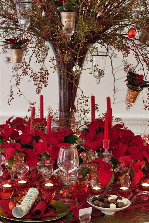 decoratingwithpoinsettia poinsettia christmas table