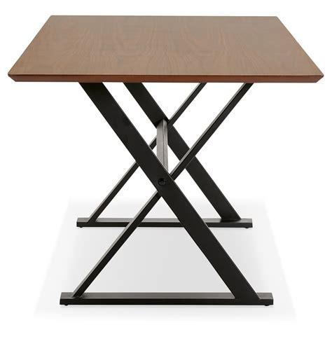table de bureau design table design en bois de noyer bureau moderne