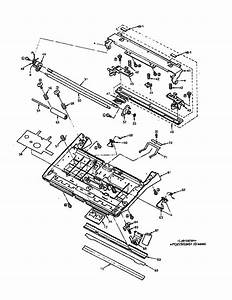 Thermal Head Section  All Models  Diagram  U0026 Parts List For
