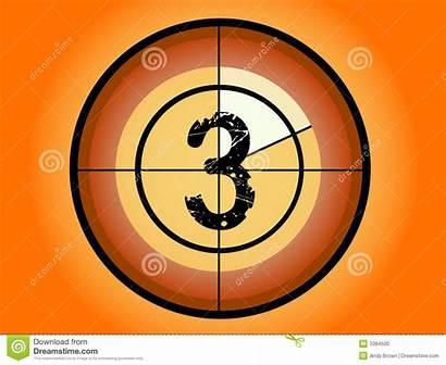 Countdown Circle Vector Orange Dreamstime