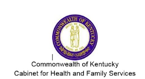 kentucky cabinet for health and family services commonwealth of ky cabinet for health and family services