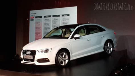 Audi A3 Sedan Launched In India With Prices Starting At Rs