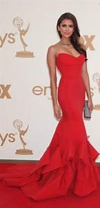 Get Nina Dobrev's Emmy Awards Hair & Makeup   Real Style ...