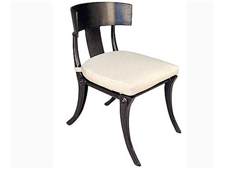 cast aluminum chairs for chic atmosphere