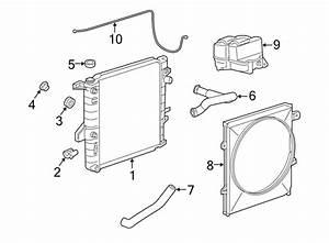 2002 Ford Ranger Radiator Cooling System Diagrams
