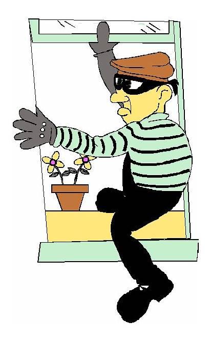 Burglar Breaking Into Rob Steal Class Suspicious