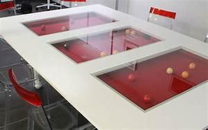 Verre Sur Mesure Pour Table : billard table en verre ou en bois pour billards toulet ~ Dailycaller-alerts.com Idées de Décoration