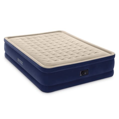 intex air mattress 43 shipped intex elevated air mattress with built