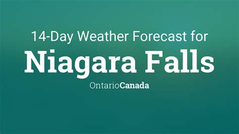 niagara falls ontario canada  day weather forecast