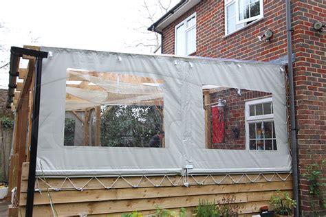 outdoor waterproof side panels and gazebo side sheets