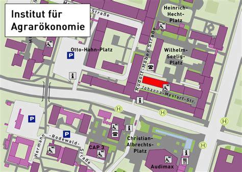 Botanischer Garten Kiel Lageplan by Anfahrt Abteilung Marktlehre