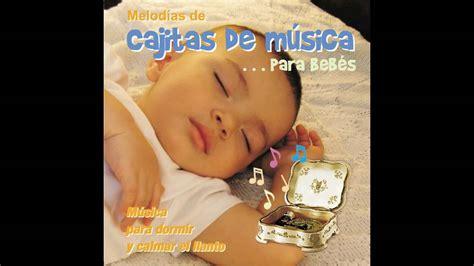 Cd Cajitas De Musica Para Bebes, Canciones Para Dormir Y
