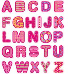 Individual Alphabet Letters