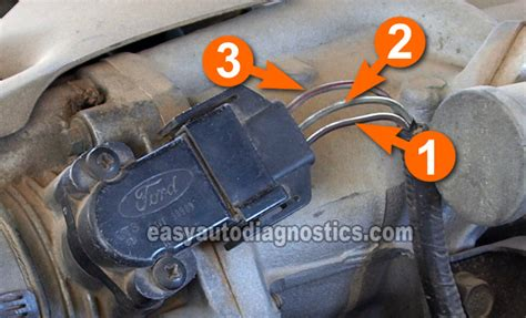 security system 1996 ford aerostar electronic throttle control part 2 how to test the tps 1991 1995 4 0l ford explorer