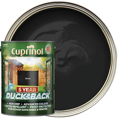 Shed Treatment Products by Cuprinol 5 Year Ducksback Matt Shed Fence Treatment