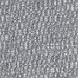 Kaufman Essex Linen Blend Yarn Dyed Steel - Discount ...