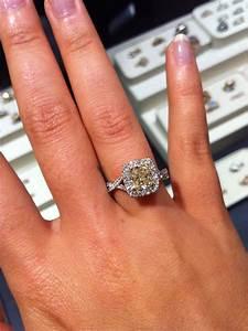 yellow canary diamond engagement ring wedding With canary yellow diamond wedding ring