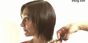 Comment Faire Un Carré Plongeant : comment couper soi m me ses longueurs en pointe cheveux beaut bien tre ~ Dallasstarsshop.com Idées de Décoration