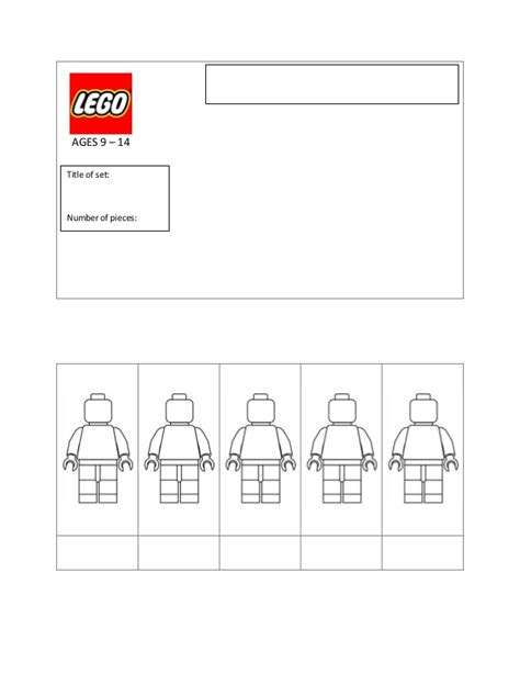 lego packaging template